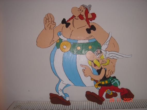 obelix , asterix