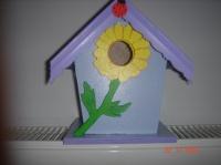 cabane à oiseaux lavande