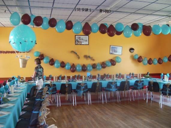 Décoration Mariage Chocolat Turquoise, Deco de fetes - Entrepot ...
