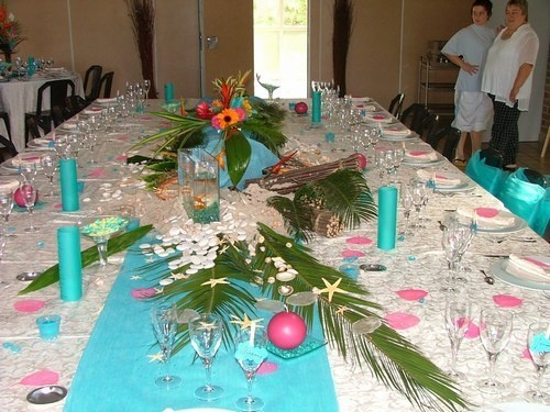 help deco de centre de table mariage les iles mariage forum vie pratique. Black Bedroom Furniture Sets. Home Design Ideas