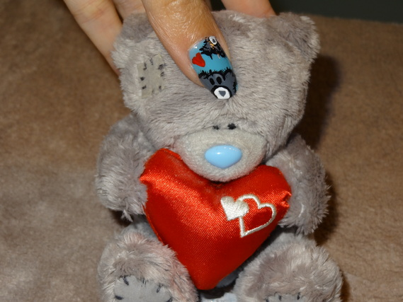 NAIL ART TATTY TEDDY