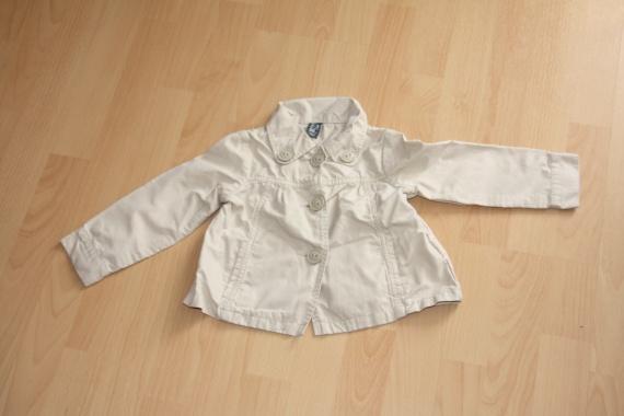 Petite veste beige Zara 2/3 ans: 4 euros
