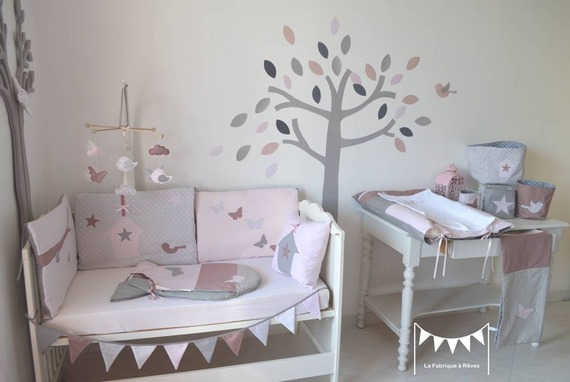 Cherche id e d co pour chambre b b les avrilettes 2015 for Deco arbre chambre bebe