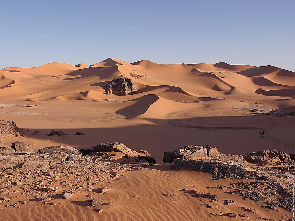 sahara paysage - Photo