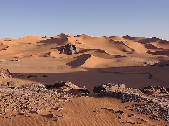 sahara-paysage - Photo