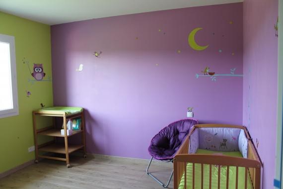 La chambre de b b page 5 les juillettes 2012 futures mamans forum grossesse b b - Chambre fille orange et vert ...