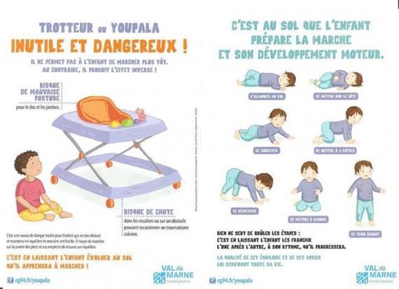A quel age on peut mettre l 39 enfant dans un trotteur - A quel age mettre bebe dans un grand lit ...