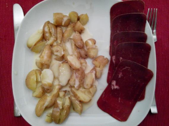pdt cancoillotte et viande des grisons