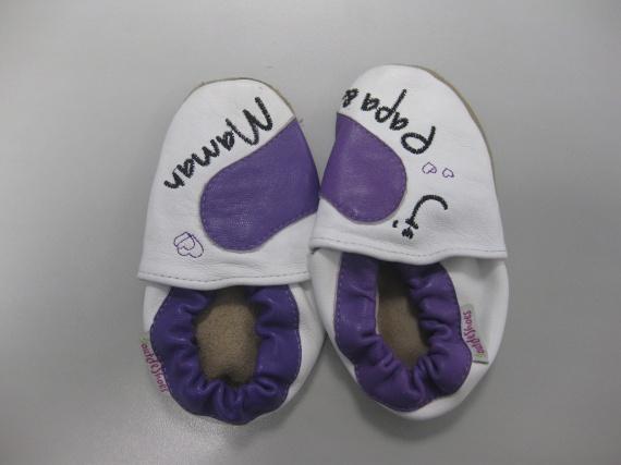 Chaussons souples Bout de shoes dim 14.5 cm