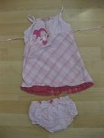 Ensemble robe + culotte 4€