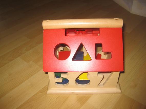 Maison en bois : 6€