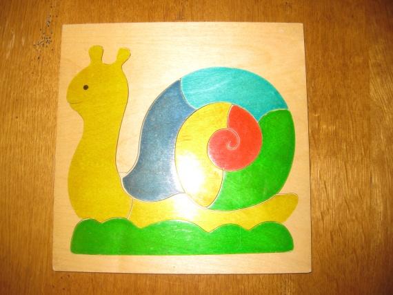 Puzzle escargot : 6€