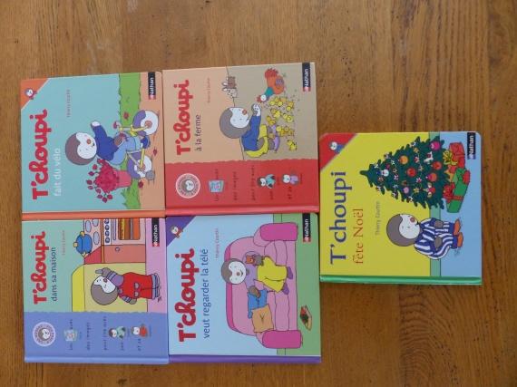livre Tchoupi : 2€