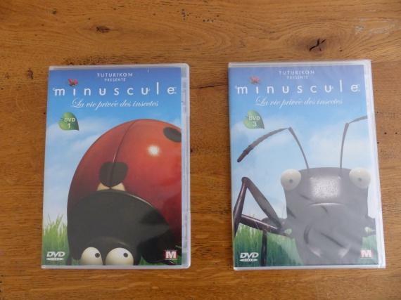 Minuscule : 3€ le DVD, 5 € les 2