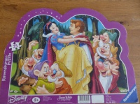 Puzzle blanche neige : 1€