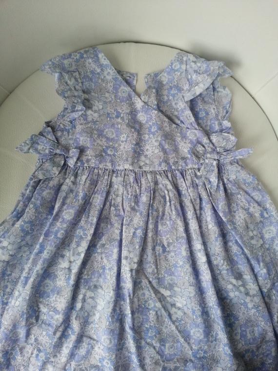 Robe imprimée bleue JACADI 18 mois 20 EUR