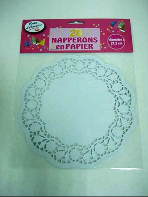 Napperons ronds