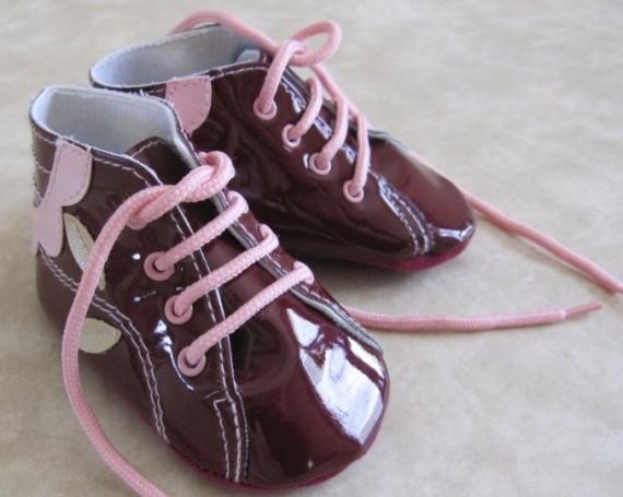 6-12 mois Chaussures portées 1 fois 2€