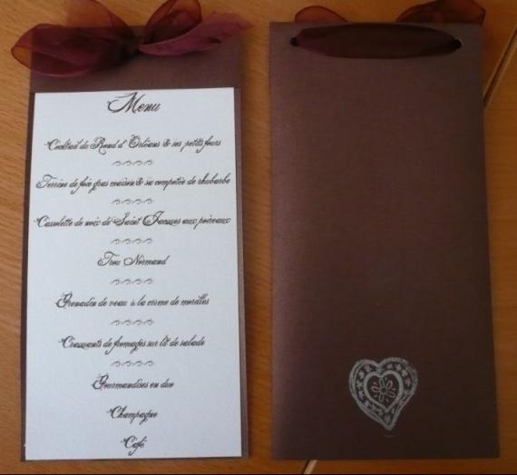 id es menus mariage. Black Bedroom Furniture Sets. Home Design Ideas