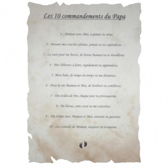 10 Commandements Du Futur Papa Daiit Com