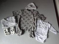 Tenue de naissance (plan A : taille 0 mois)
