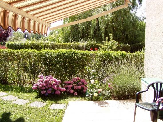 sous la tonnelle mon carr de pelouse chantal74960 photos club doctissimo. Black Bedroom Furniture Sets. Home Design Ideas
