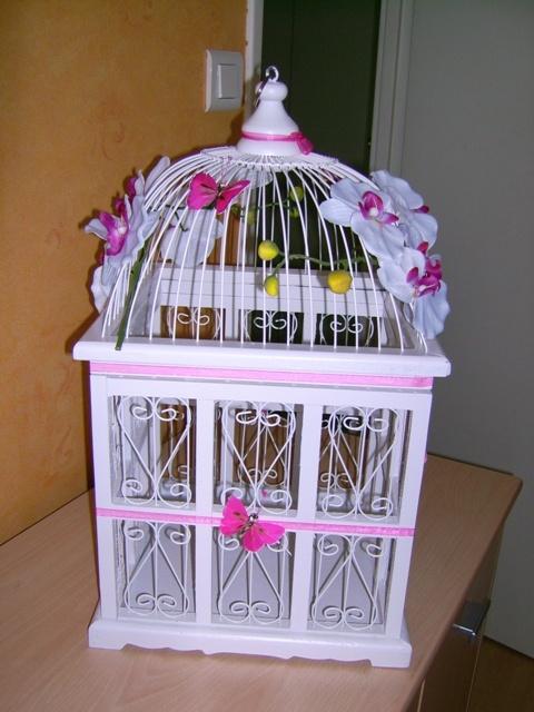 urne cot gauche - Urne Mariage Cage