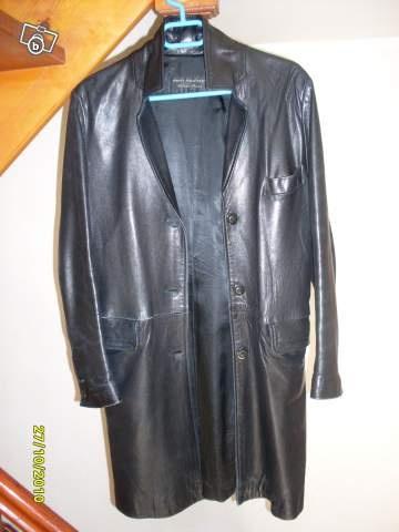 mon trés beau manteau en cuir 2