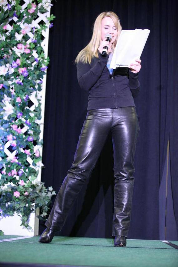 Magnifique pantalon en cuir