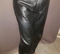 mon nouveau pantalon en cuir 2