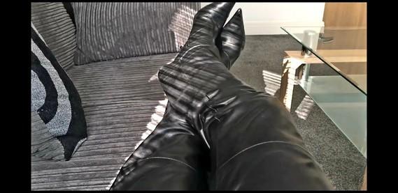 Mon pantalon en cuir
