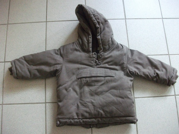 Manteau marron 2 ans recto 4 euros