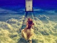 a escalier ciel porte