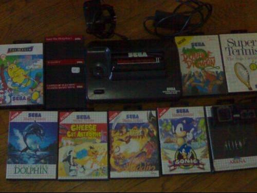 Sega et jeux