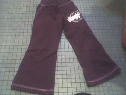 pantalon hiver violet