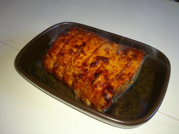 Rôti de porc soja - miel