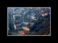 Budapest vue de l'avion 1