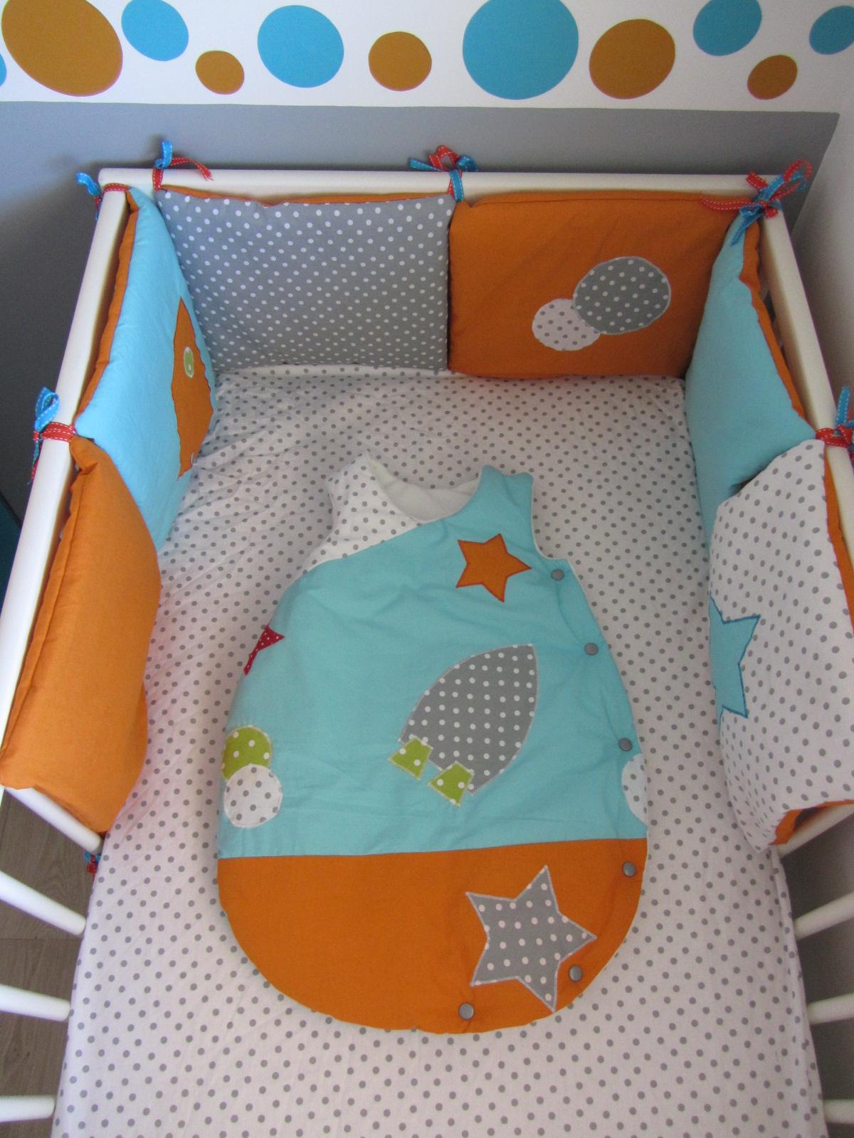 la chambre orange et bleu de mon kipouss - Chambre de bébé - FORUM ...