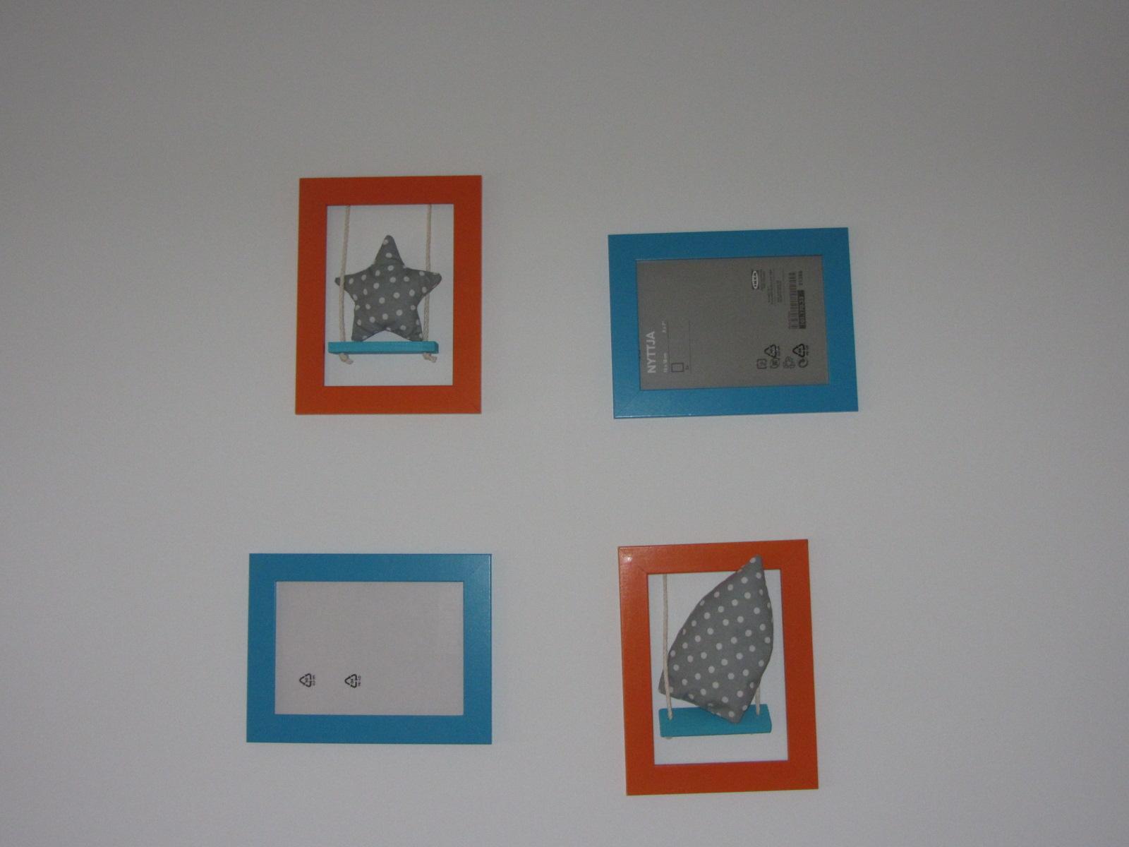 la chambre orange et bleu de mon kipouss - Chambre de bébé ...