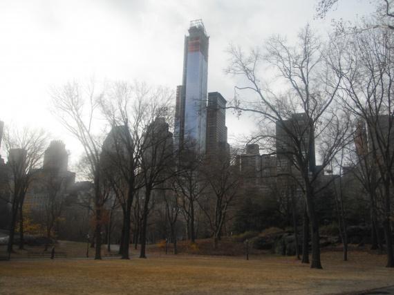 Central park un mercredi matin
