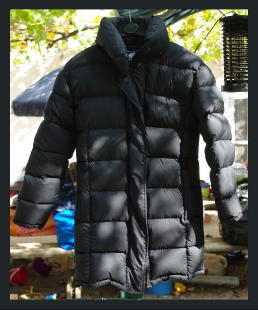 Doudoune Mi-Longue Noire Pyrenex Taille 38 Comme Neuf