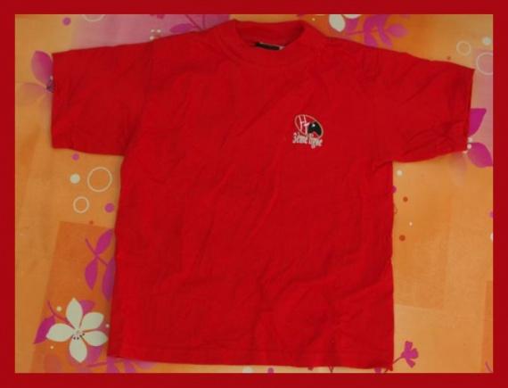 T-shirt Rouge 3ème Ligne Taille 6 ans TBE
