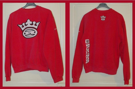 Pull Rouge  Royal Wear  Taille L TBE