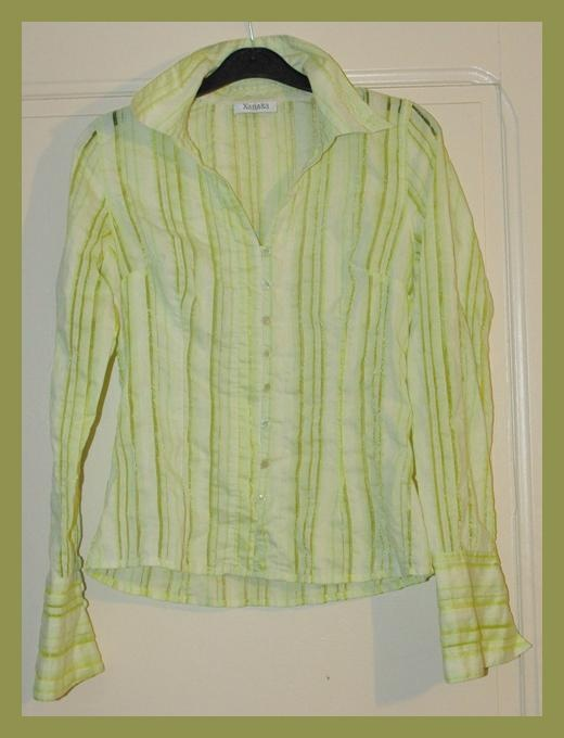 Chemise Vert Clair  Xanaka  Taille 38 TBE