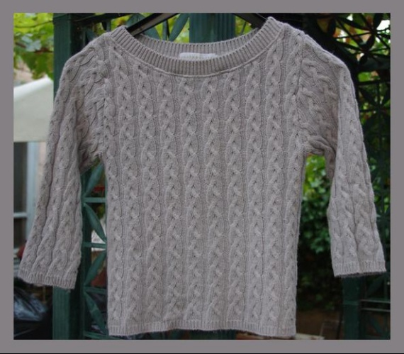 Pull Gris  Cache Cache  Taille 2 TBE