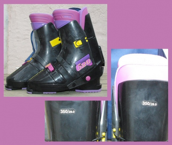 Chaussures Ski Salomon T. 350/28 + Sac TBE