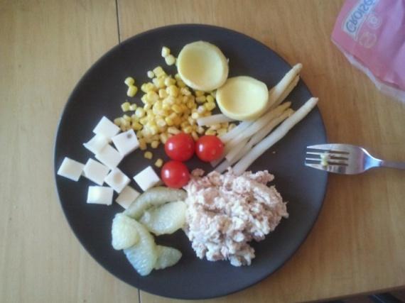 salade de riz à ma façon :)
