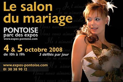 affiche mariage 2008 vign