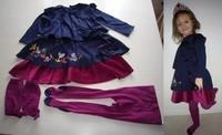 catimini robe TTBE 40€ (qq points fait a l'entre jambe du collant ne ce voit pas)