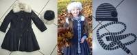 60 euros jean bourget manteau et toque (bonnet echarpe offert)